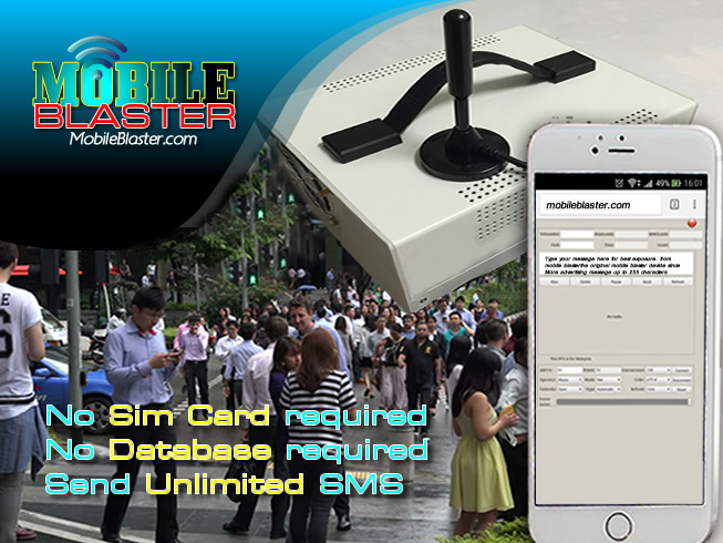 original mobile sms gsm blaster malaysia