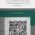 WhatsApp web scan image