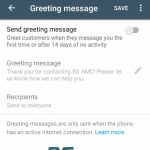 whatsapp business greeting message image