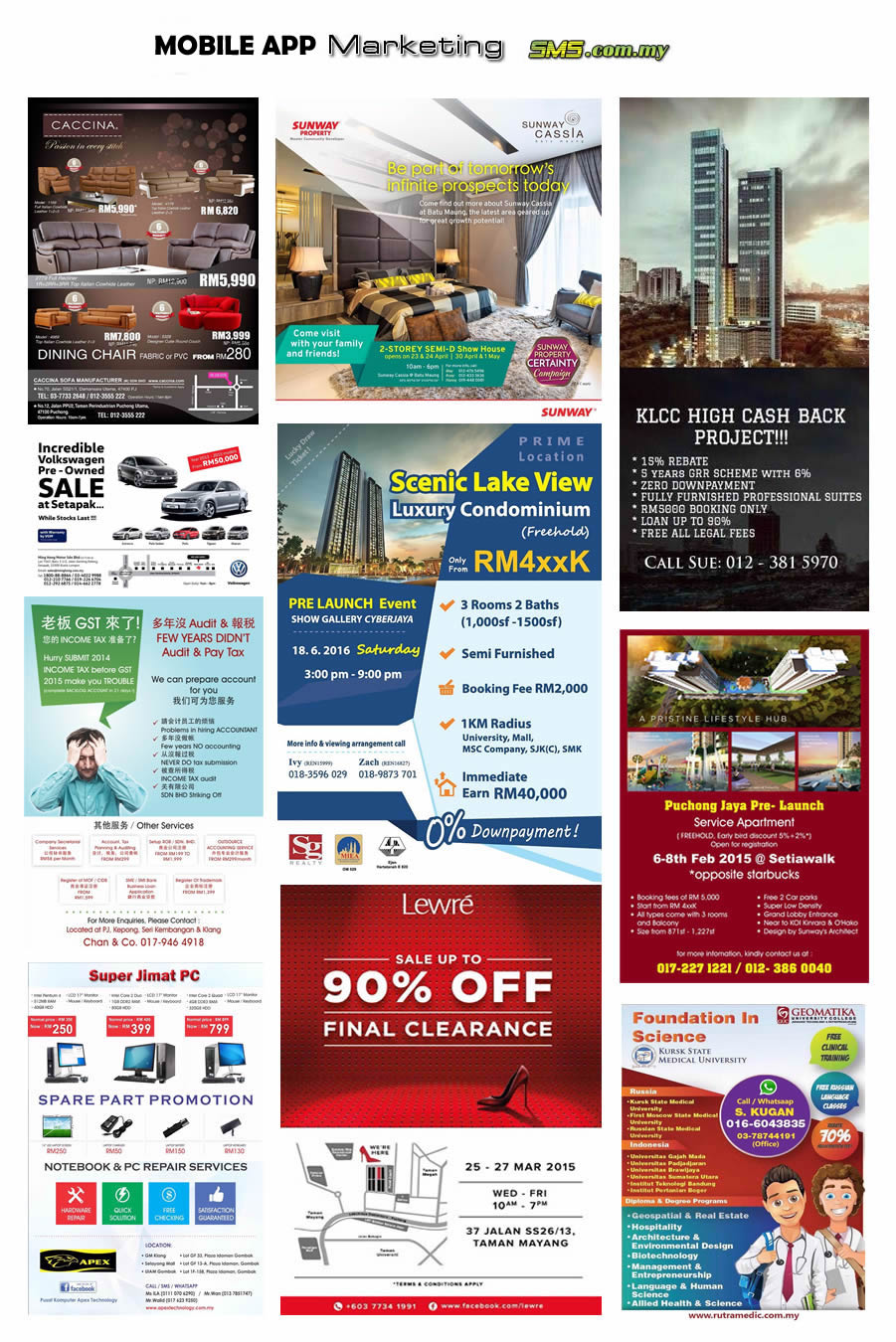 Effective Bulk Mobile App Marketing with Malaysia